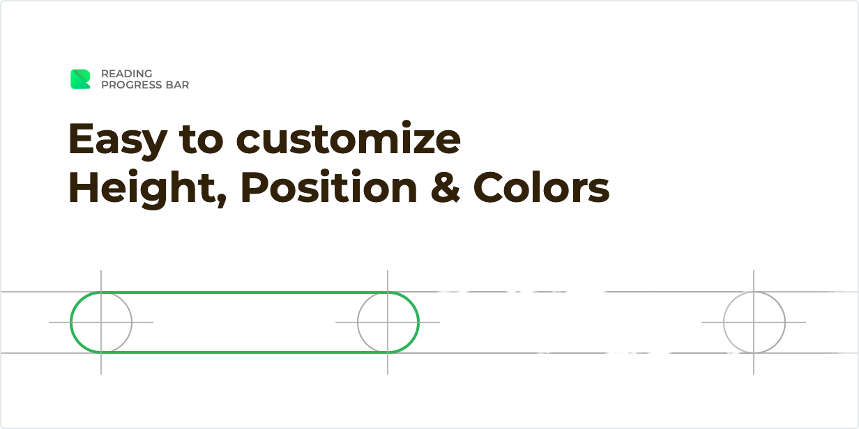 Easy to customize Height, Position & Colors