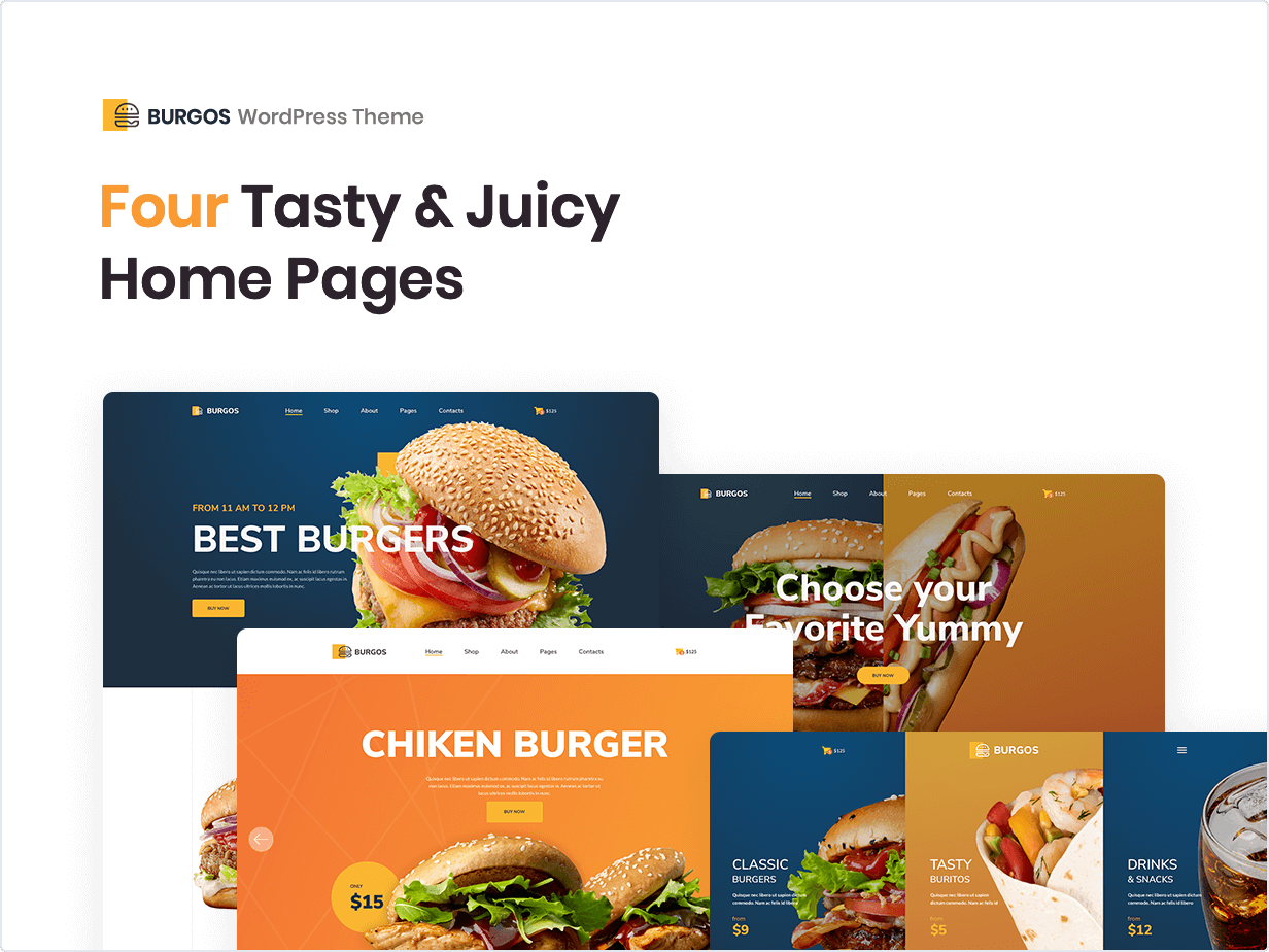 4 Tasty and Juicy Home Pages