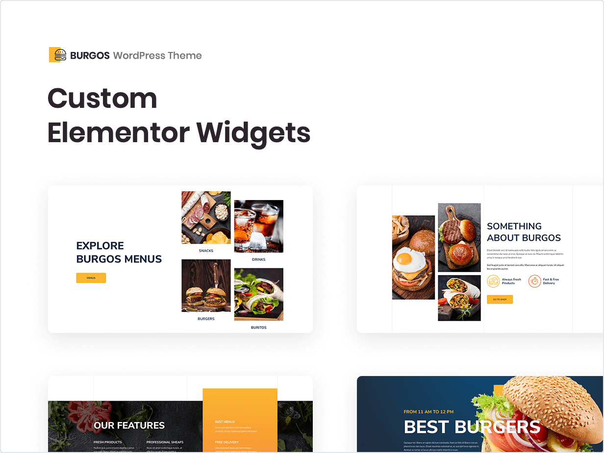 Custom Elementor Widgets