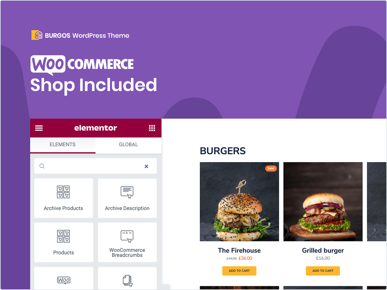 wooCommerce Shop Included