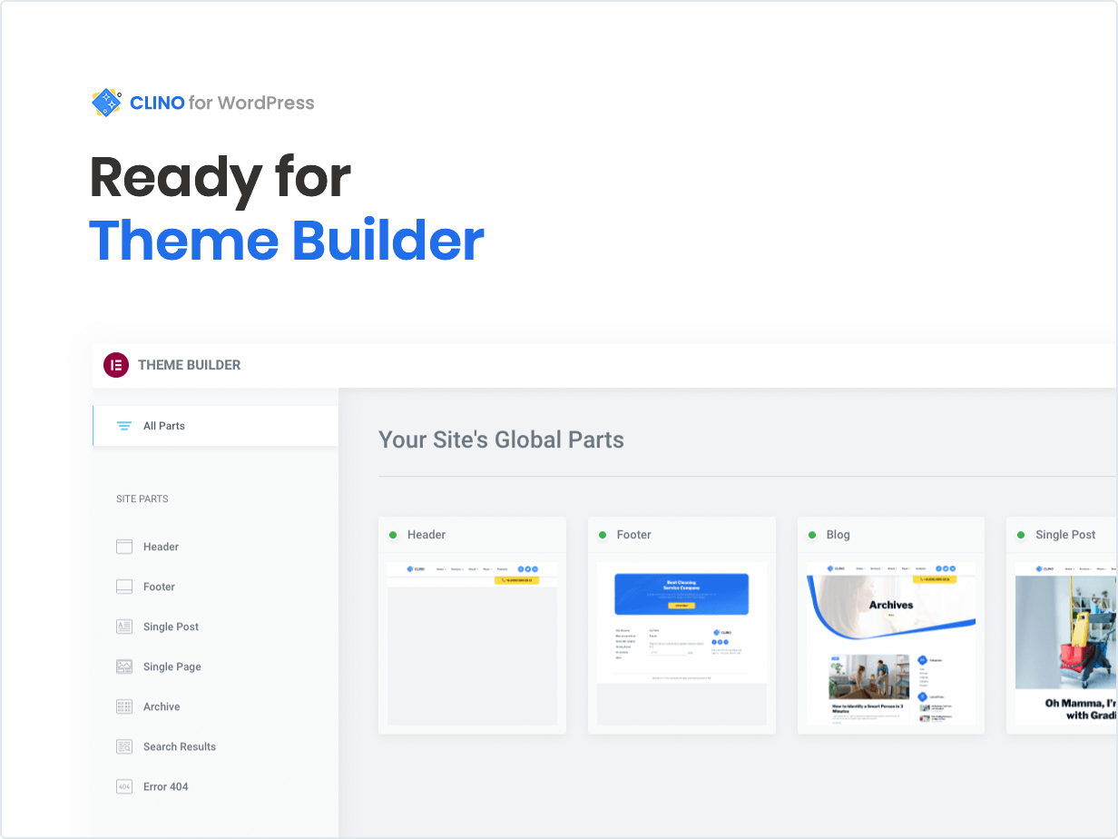 Ready for Theme Builder