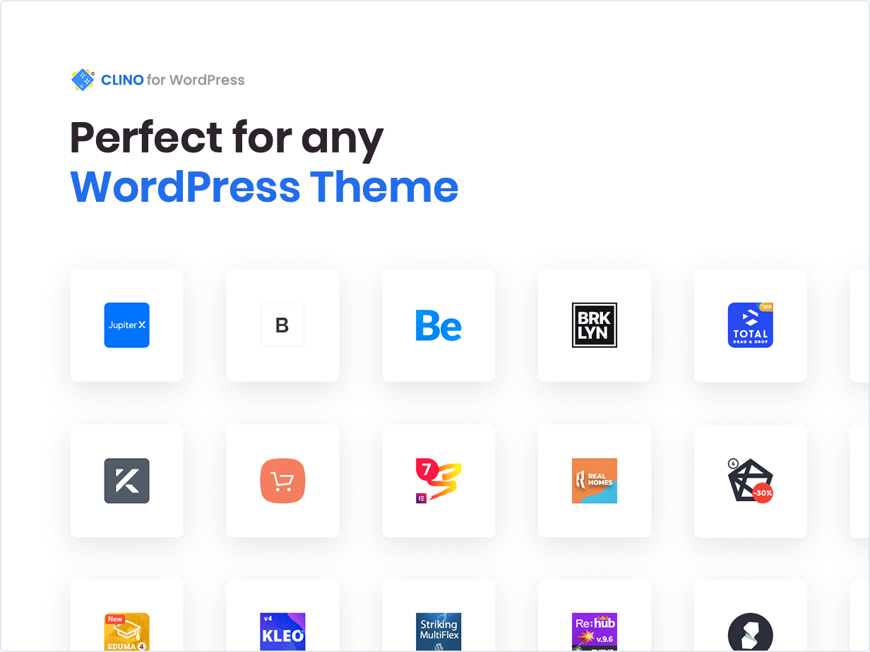 Perfect for any WordPress Theme