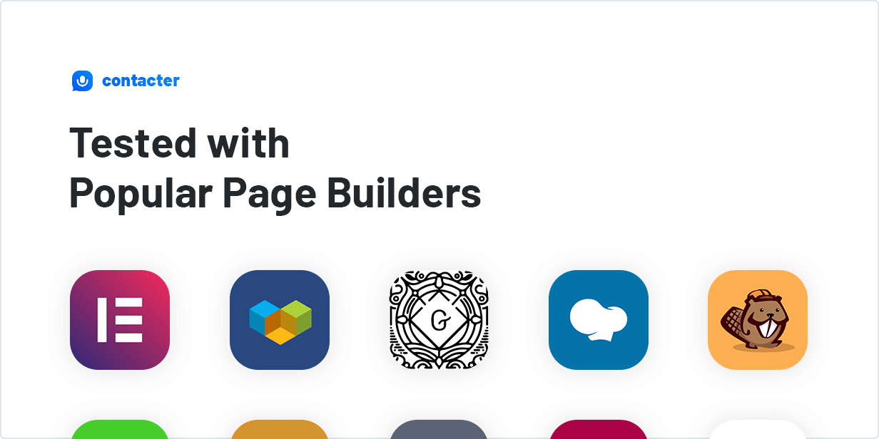 Voice Feedback Plugin Tested with Popular Page Builders