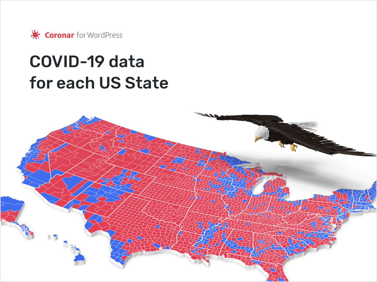 COVDI-19 data for each US State
