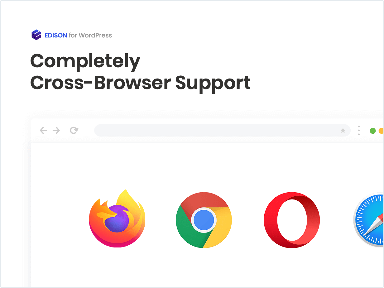 Completely Cross Browser Support