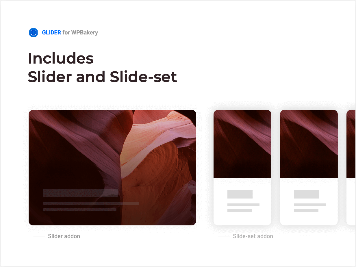 Two slider addons