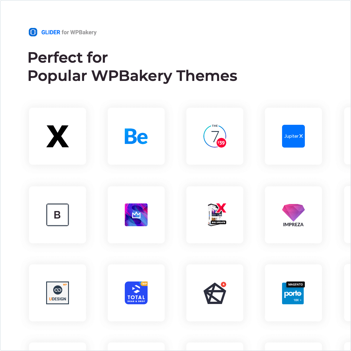 Perfect for Popular WPBakery Themes