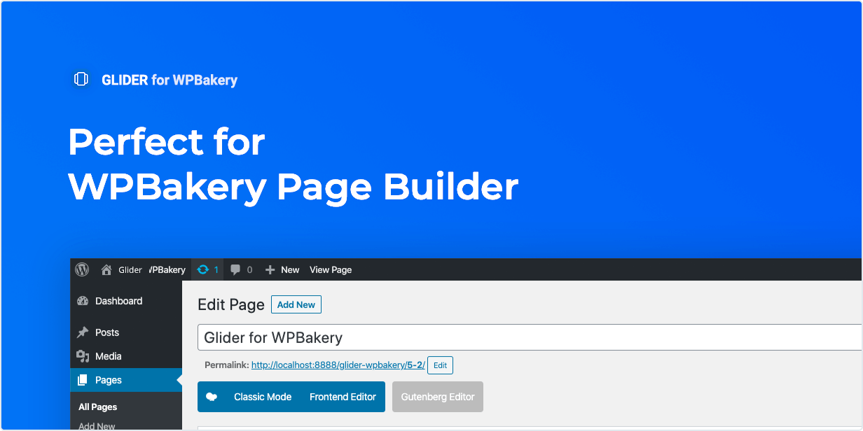 Perfect for WPBakery Page Builder