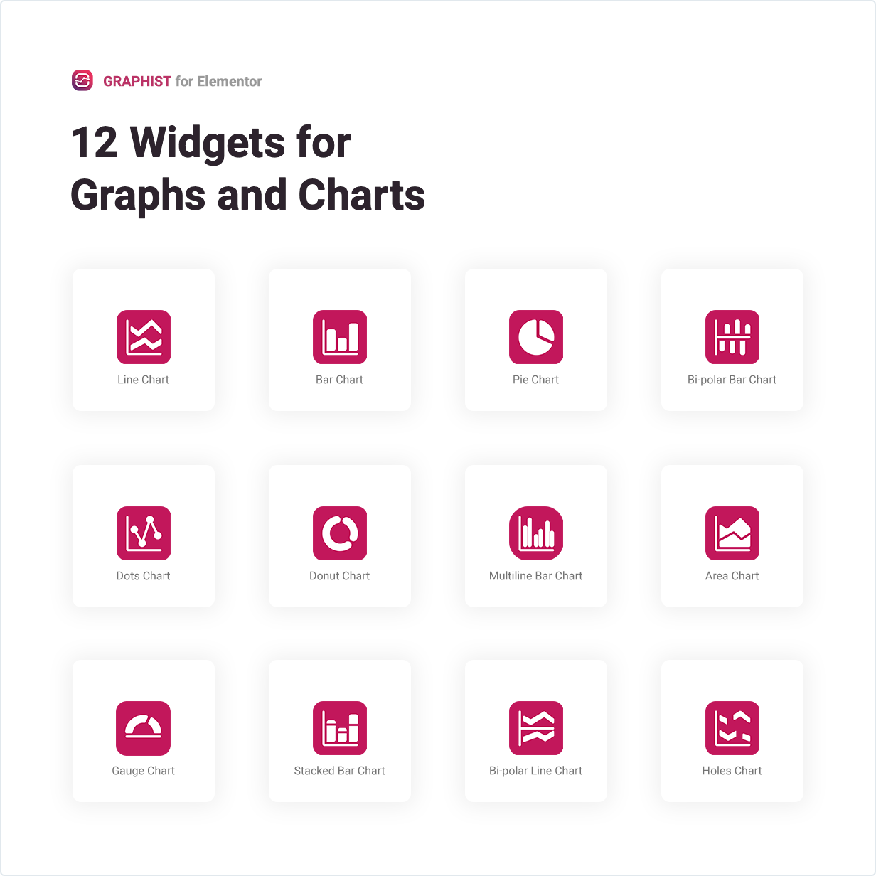 12 Widgets for Graphs and Charts