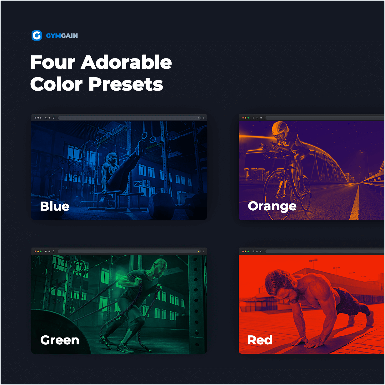 Four Adorable Color Presets