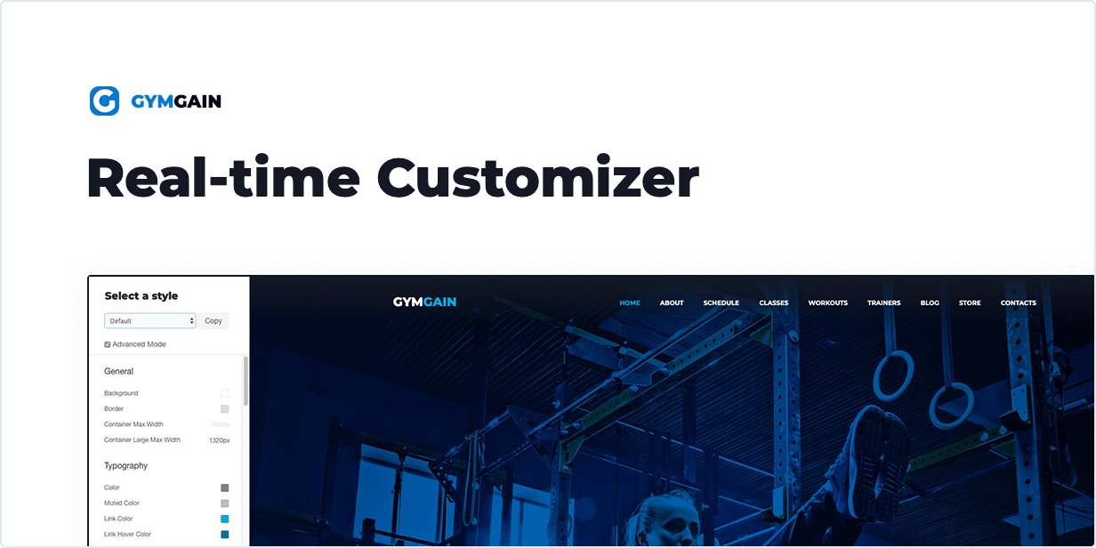 Real-time Customizer