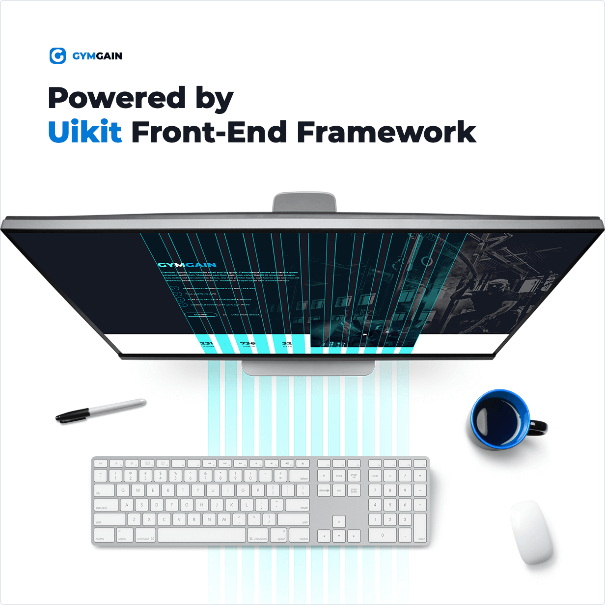 Powered by Uikit Front-End Framework