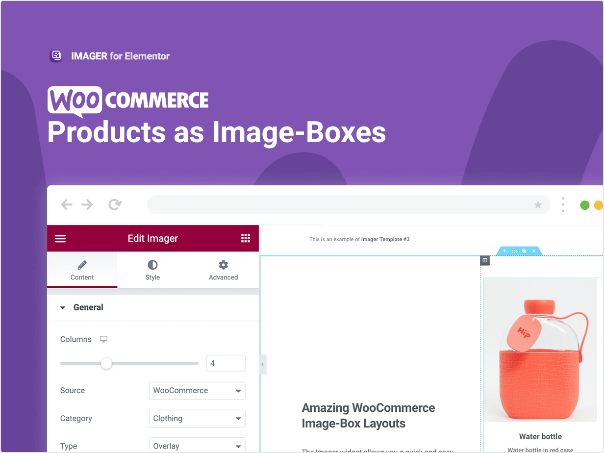 WooCommerceProducts as Image-Boxes