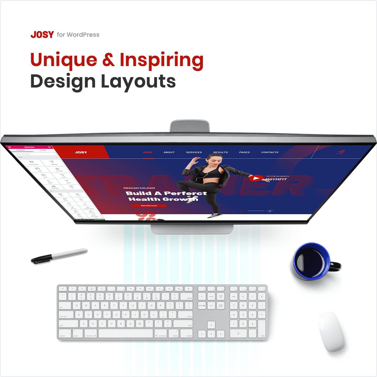 Unique & Inspiring Design Layouts