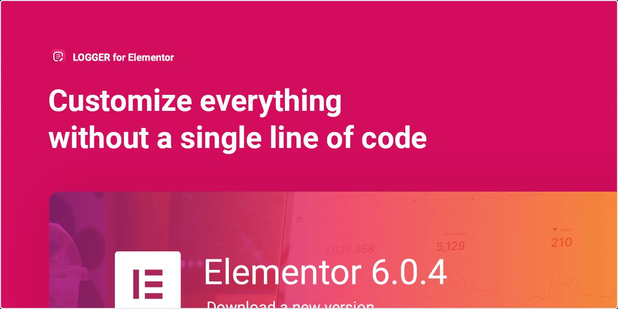 Personalize tudo sem uma única linha de código