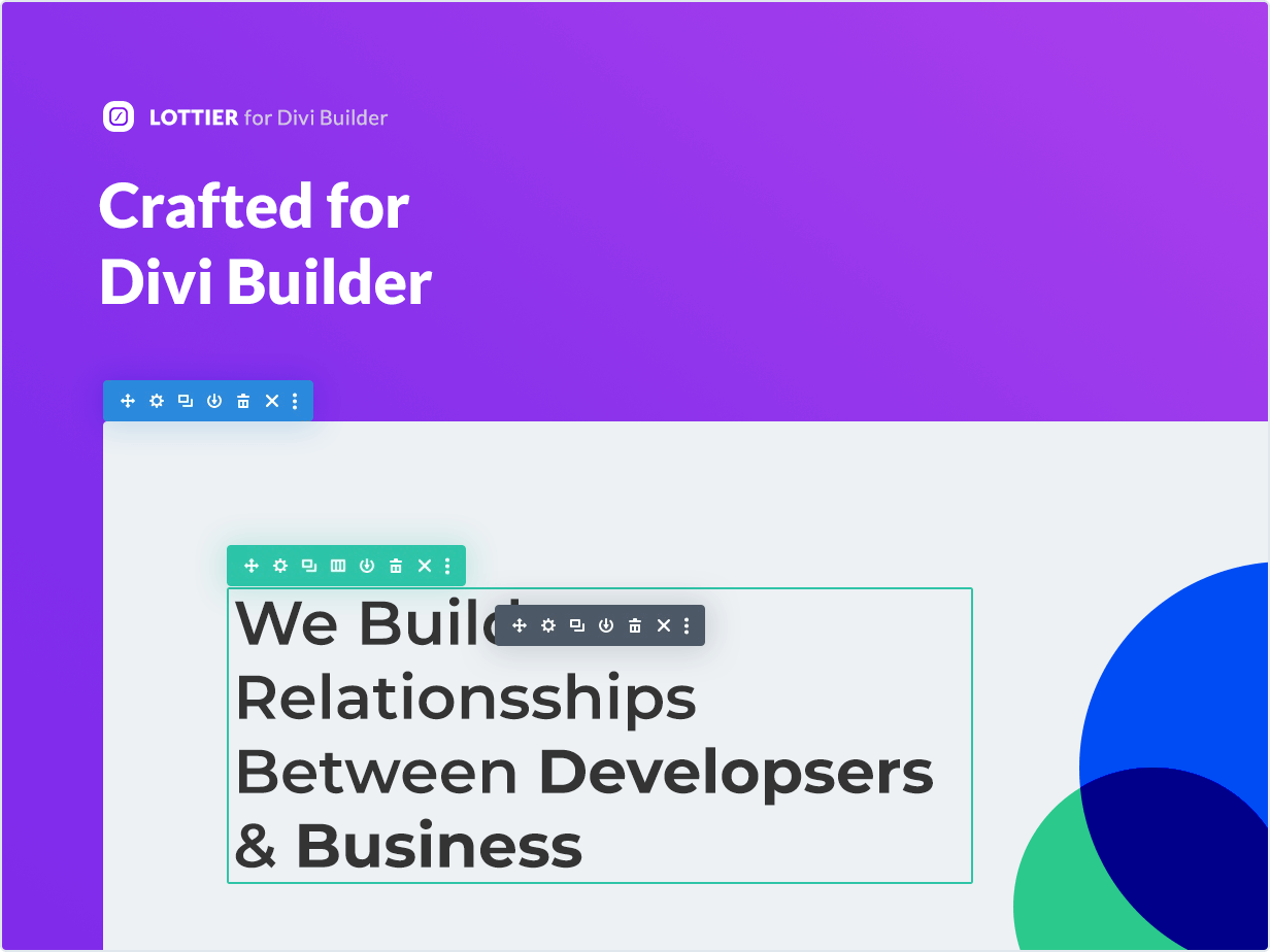 Crafted for Divi Builder