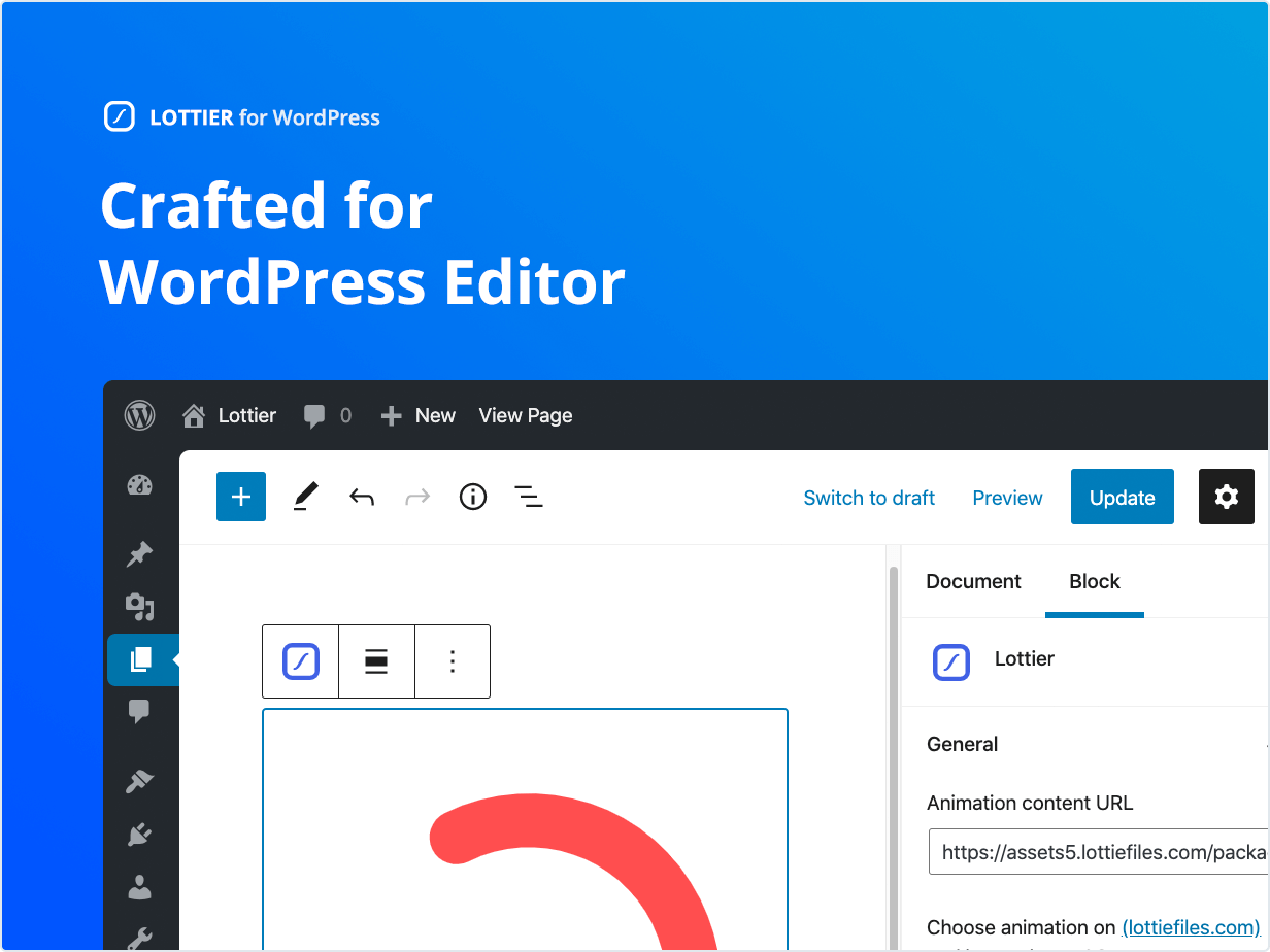 Crafted for WordPress Editor