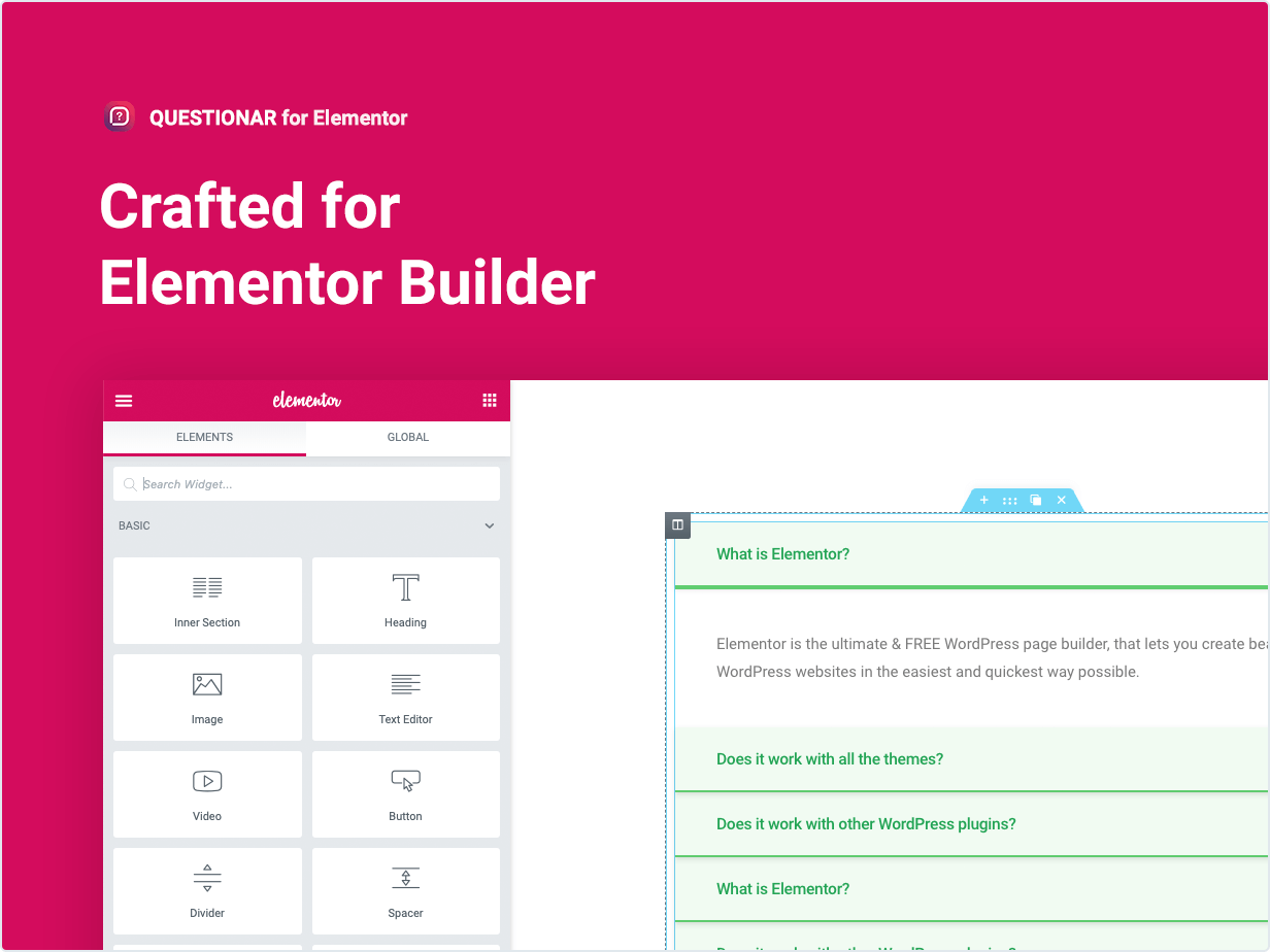 Crafted for Elementor Builder