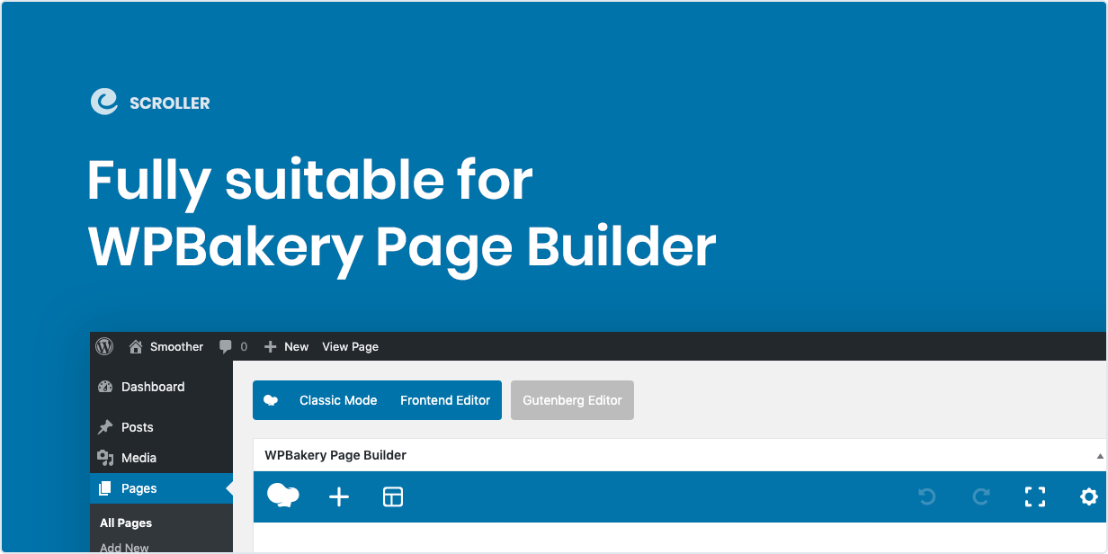 Entirely ideal for WPBakery Page Builder