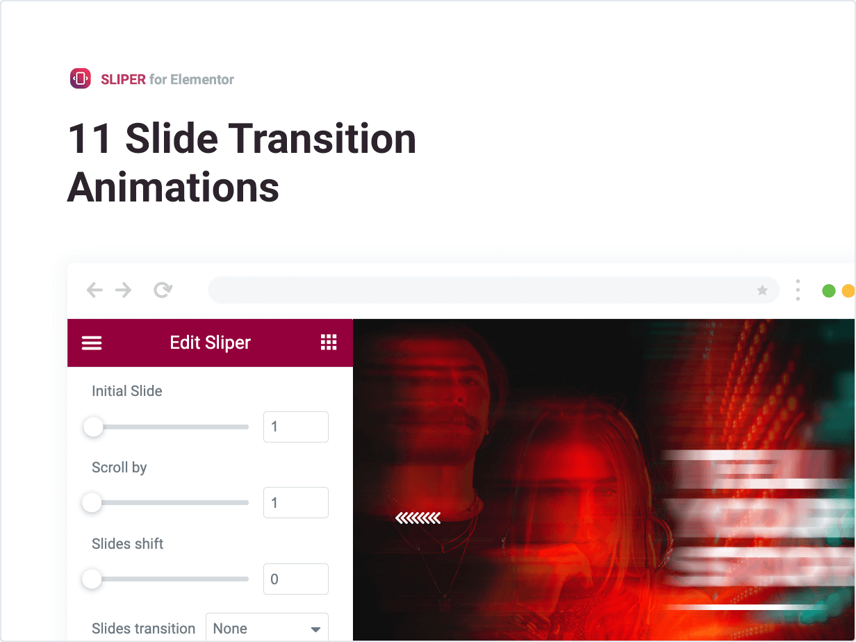 11 Slide Transition Animations