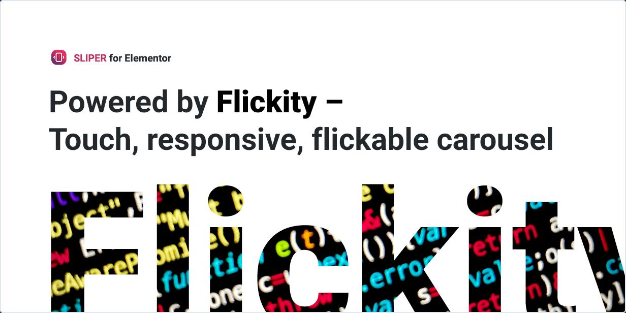 Powered by Flickity - Carrossel sensível ao toque e movível