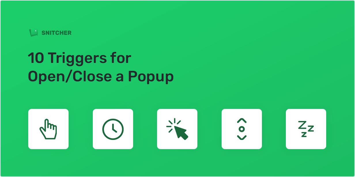 10 Trigger for Open/Close a Popup
