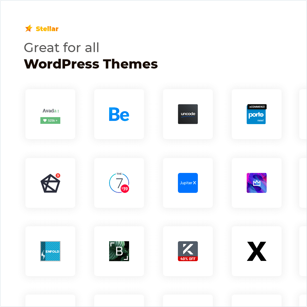 Stellar Rating WordPress plugin great for popular WordPress Themes