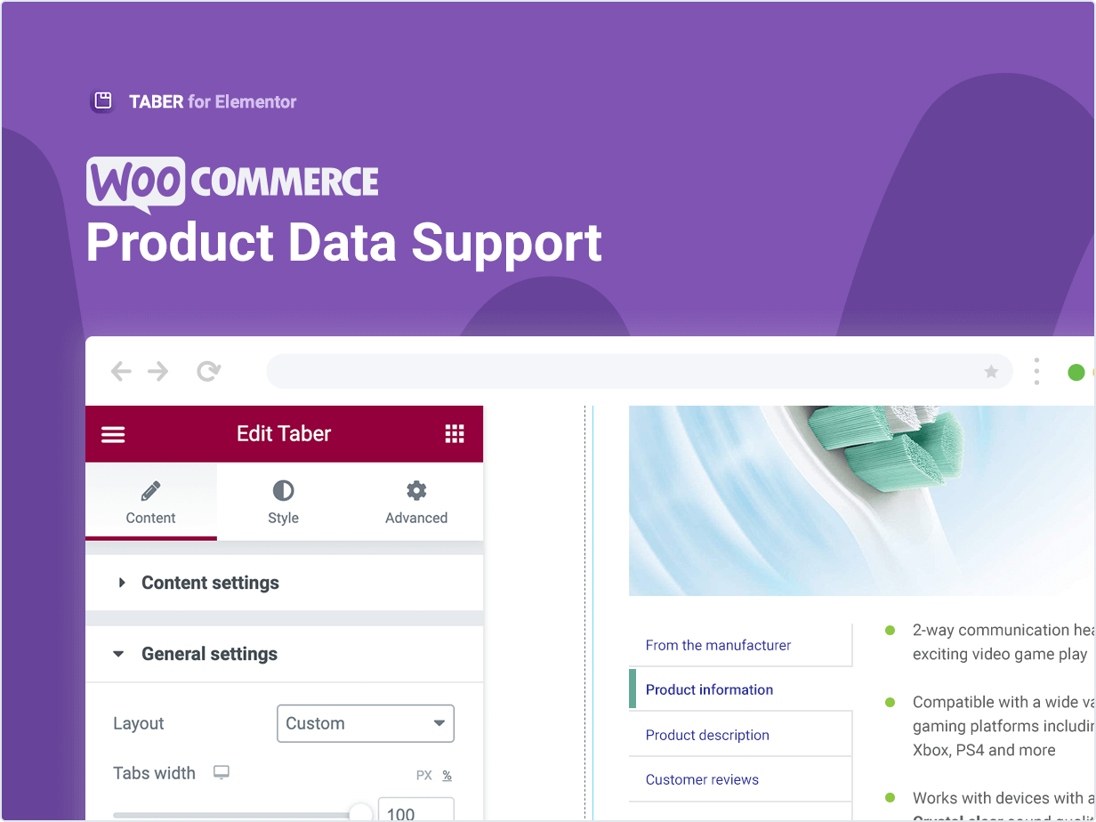 Woocommerce Product Data Support