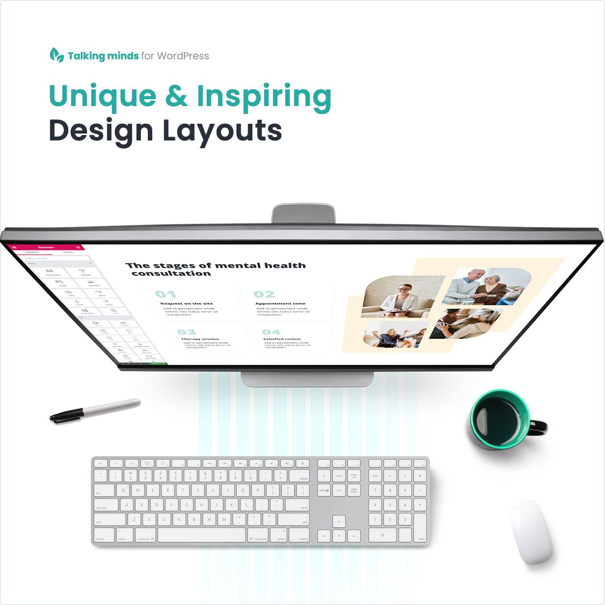 Unique & Inspiring Design Layouts