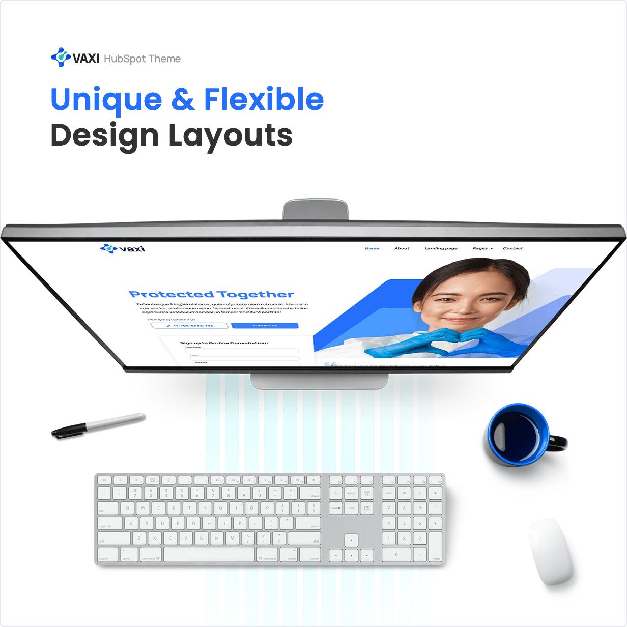 Unique and Flexible Design Layouts