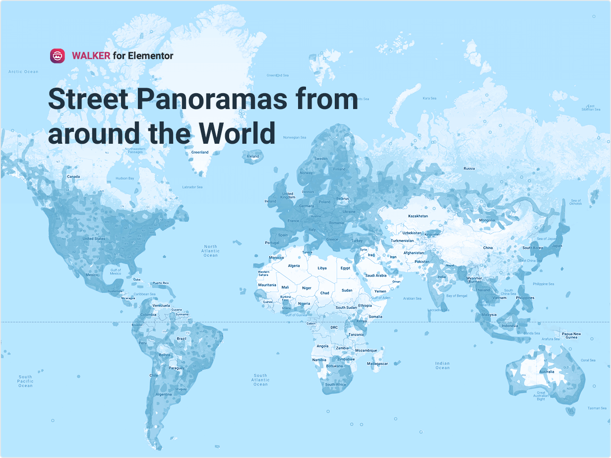 Street Panoramas from around the World
